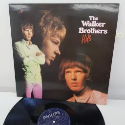THE WALKER BROTHERS - Hits, 12 inch LP, COMP., reissue. PRICE 37, navy label with silver font