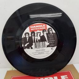 "TRAVELING WILBURYS - Handle With Care, B side - Margarita, 7""single, 927 732-7, black/white printed label"