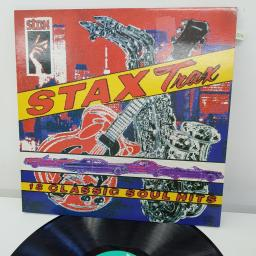 THE STAPLE SINGERS, BOOKER T. & M.G.'S, EDDIE FLOYD, SHIRLEY BROWN, FREDERICK KNIGHT AND MORE - Stax Trax, 12 inch LP, COMP. CBR 1023, green label with black font