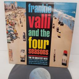 FRANKIE VALLI AND THE FOUR SEASONS - The 20 Greatest Hits, 12 inch LP, COMP., STAR 2320, blue ombre label