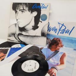 OWEN PAUL - As It Is, 12 inch LP, EPC 57114. Limited edition, blue/white label. Includes 7 inch single: My Favourite Waste Of Time/Another Homeland