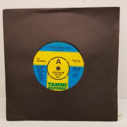 RAY MUNNINGS - It Could Happen To You, B side - Let's Boogie, 7 inch single, PROMO. TAM 102, blue/yellow label, 4 prong centre