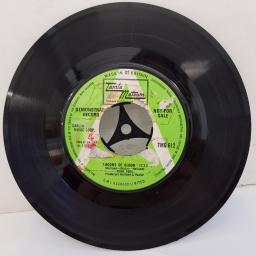 "FOUR TOPS - 7-Rooms Of Gloom, B side - I'll Turn To Stone, 7""single, TMG 612, green/white label"