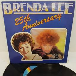 "BRENDA LEE - 25th Anniversary, MCLD 609, 2x12""LP, COMP. MCA rainbow labels"