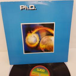 PH.D. - Ph.D., 12 inch LP, WEA 99 150, coloured WEA label