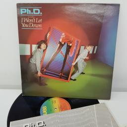 PH.D. - Ph.D., 12 inch LP, reissue. WEA K 99 150, coloured WEA label