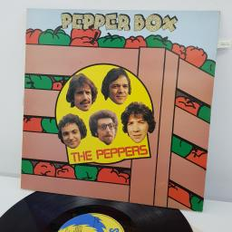 THE PEPPERS - Pepper Box, 12 inch LP, SRLP 113, blue/yellow label