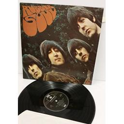 THE BEATLES rubber soul, PCS 3075