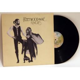 FLEETWOOD MAC rumours First UK pressing A, B matrix. 1977 Warner Bros Label
