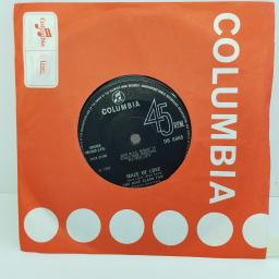 THE DAVE CLARK FIVE - The Red Balloon, B side - Maze Of Love, 7 inch single, DB 8465. Black label with silver font, solid centre