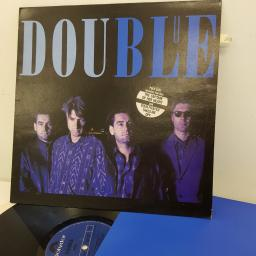DOUBLE - Blue, 12 inch LP,POLD 5187, blue label with black font