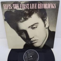 "ELVIS PRESLEY - The First Live Recordings, 12""LP, PG 89387, black RCA label"