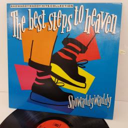 SHOWADDYWADDY - The Best Steps To Heaven: Showaddywaddy Hits Collection, 12 inch LP, COMP., SHTV1. Red label with black font