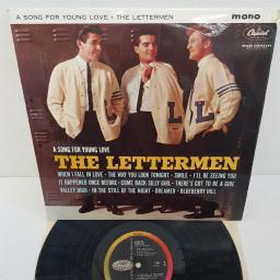 "THE LETTERMEN - A Song For Young Love, 12""LP, MONO, T 1669"