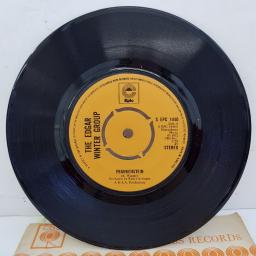 "THE EDGAR WINTER GROUP - Frankenstein, B side - Undercover Man, 7""single, S EPC 1440, orange label with black font"