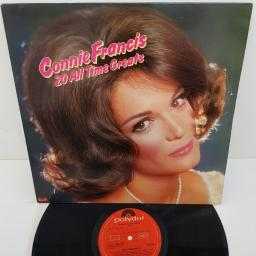 "CONNIE FRANCIS, 20 All Time Greats, 12""LP, COMP, 2391 290, red POLYDOR label"