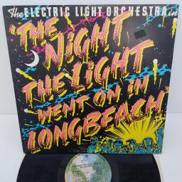 "ELECTRIC LIGHT ORCHESTRA - The Night The Light Went on in Longbeach, 12""LP, WS 56058, printed picture label"