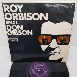 "ROY ORBISON - Roy Orbison Sings Don Gibson, 12""LP, MONO, HAU 8318, purple LONDON AMERICAN SERIES label"