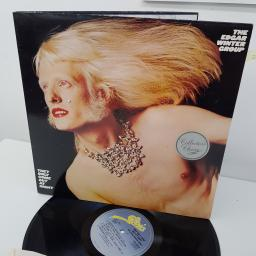 THE EDGAR WINTER GROUP - They Only Come Out At Night, EPC 32518, 12 inch LP, reissue. Blue label with yellow Epic print