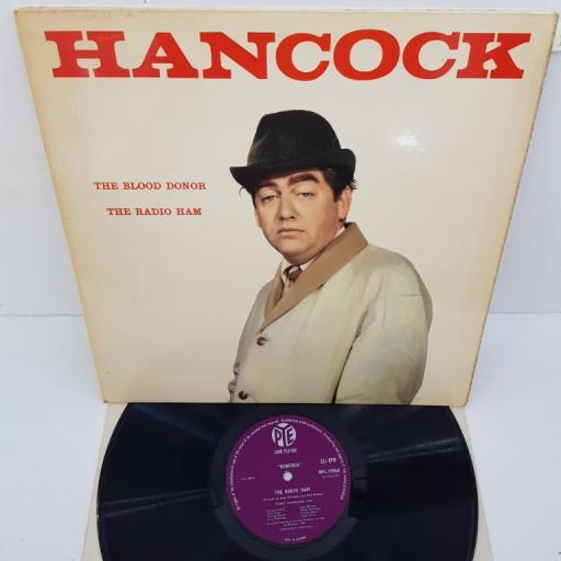 "HANCOCK - The Blood Donor/Radio Ham, NPL 18068, comedy 12"" LP. Pye plum label"