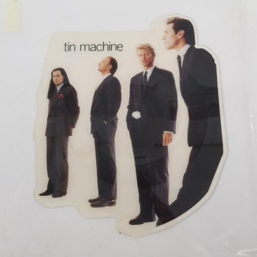 "TIN MACHINE, DAVID BOWIE - Maggie's World Live / Tin Machine, MTPD 73, 10"" single, die cut picture disc, limited edition"