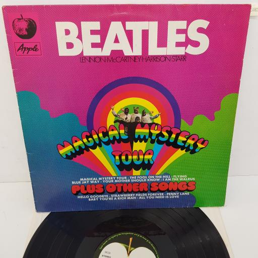 THE BEATLES - Magical Mystery Tour Plus Other Songs, 12 inch LP, COMP. REISSUE. 1C 072-04 449, Apple Records label