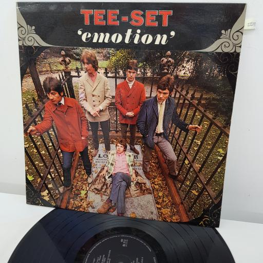 TEE-SET - Emotion, 12 inch LP, DL 512, black label with silver font - made in Holland