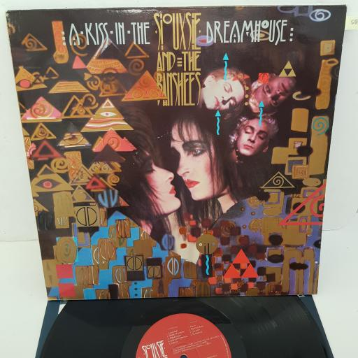 SIOUXSIE AND THE BANSHEES - A Kiss In The Dreamhouse, 12 inch LP, POLD 5064. 2383 648, red/white label