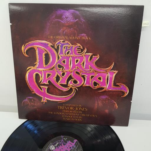 TREVOR JONES - The Dark Crystal Original Soundtrack, 12 inch LP, 1-23749, black/purple label