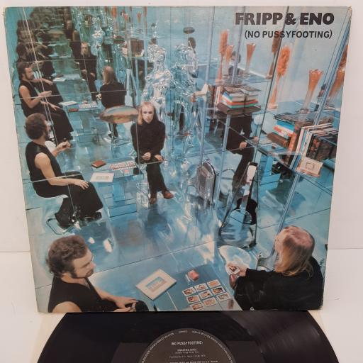 FRIPP & ENO - No Pussyfooting , 12 inch LP, HELP 16, black label with silver font