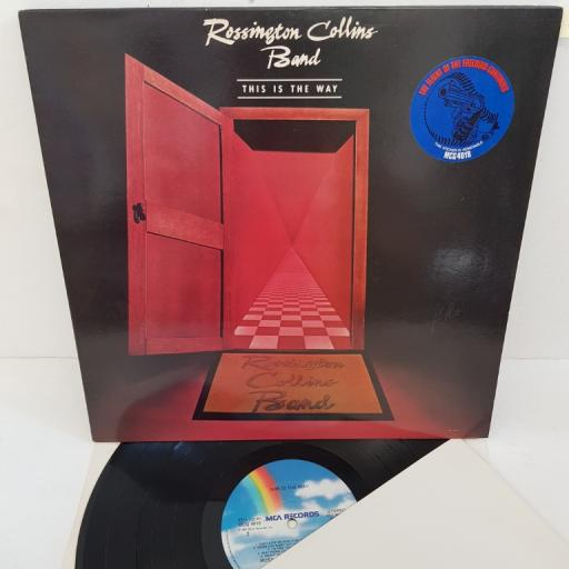 "ROSSINGTON COLLINS BAND - This is the Way, MCG 4018, 12""LP"