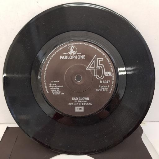 BERNIE MARSDEN - Sad Clown, B side - You And Me, R 6047, black label with silver font