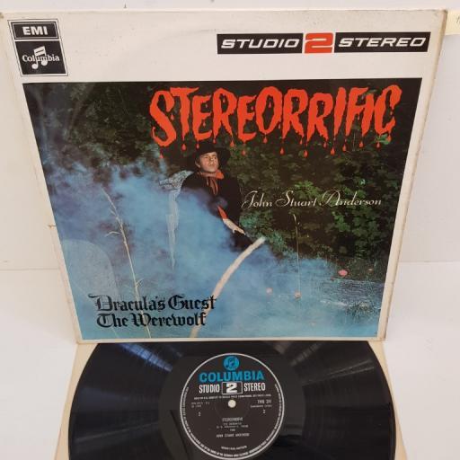 """JOHN STUART ANDERSON - Stereorrific - incidental music&spoken word. TWO 241, 12""""LP"""