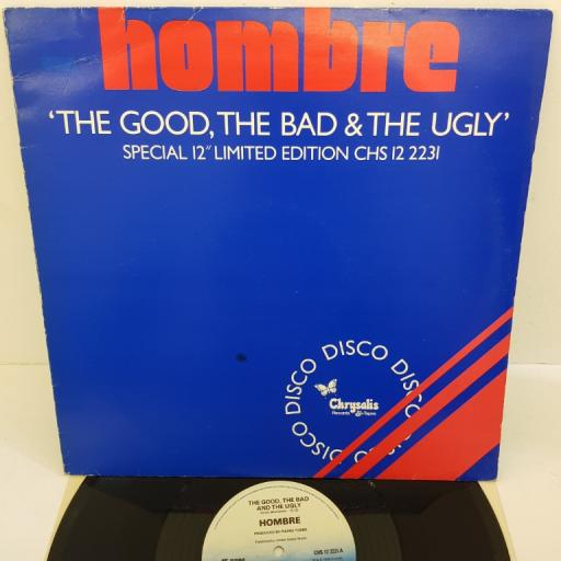 """HOMBRE - The Good, The Bad and The Ugly, CHS 12 2231, blue ombre label, 12"""""""