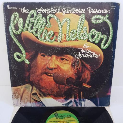 """WILLIE NELSON - The Longhorn Jamboree Presents Willie Nelson and His Friends, PLP-24, 12""""LP"""