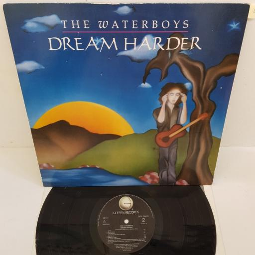 "THE WATERBOYS - Dream Harder, GEF 24476, 12""LP"