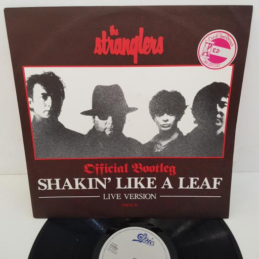 THE STRANGLERS - Shakin' Like A Leaf Live Version, Official Bootleg, 12  inch , SHEIK B1, white label