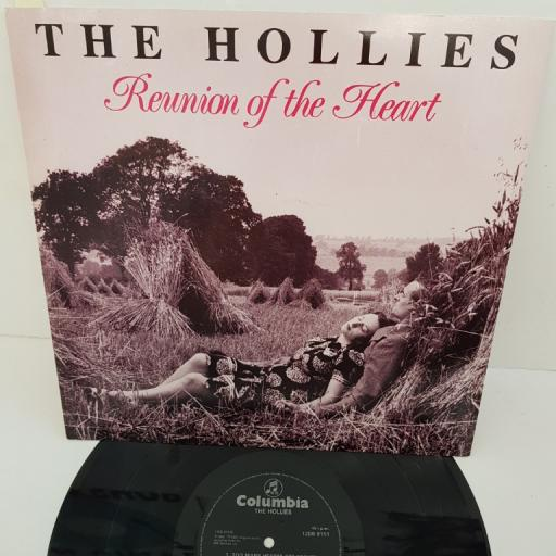 "THE HOLLIES - Reunion of the Heart, 12DB9151, 12"" LP"