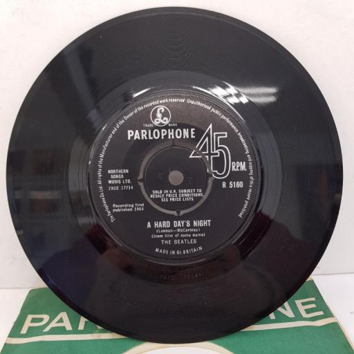 """THE BEATLES - A Hard Day's Night, B side - Things We Said Today, 7""""single, R 5160"""