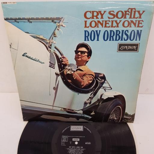 "ROY ORBISON, Cry Softly Lonely One, 12""LP, MONO. HAU-8357. LONDON black label"