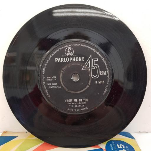 """THE BEATLES - From Me To You, B side - Thank You Girl, 7""""single, 1st pressing, R 5015"""