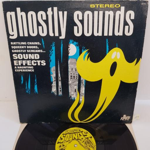 """SOUND EFFECTS A HAUNTING EXPERIENCE - Ghostly Sounds, 8145, 12""""LP"""