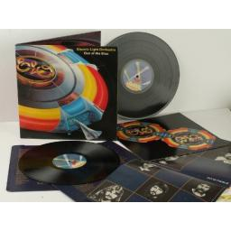 ELECTRIC LIGHT ORCHESTRA, OUT OF THE BLUE WITH SPACESHIP CUT OUT