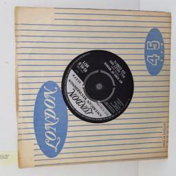 BILL HALEY AND HIS COMETS - Spanish Twist, B side - My Kind Of Woman, 7 inch single, 45-HLU 9471. Black/silver label