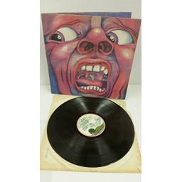 KING CRIMSON in the court of the crimson king (an observation by the king), gatefold, ILPS 9111