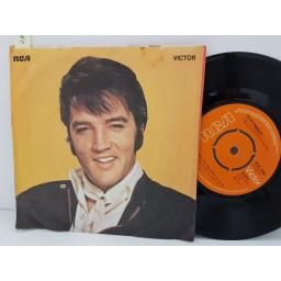 "ELVIS PRESLEY - until its time for you to go. RCA2188, 7"" single, orange label with black font"