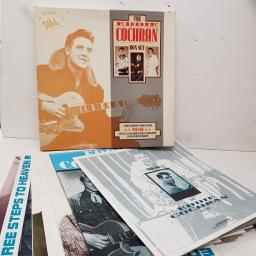 "EDDIE COCHRAN - the eddie cochran box set. ECB1, 6xVinyl, 12""LP."