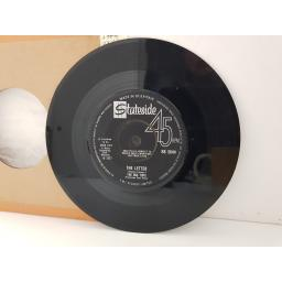 "THE BOX TOPS - the letter. SS2044, 7"" single."