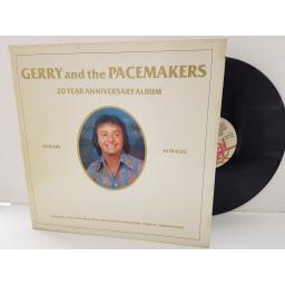 "GERRY AND THE PACEMAKERS - 20 year anniversary album. DEB1101, 12""LP"