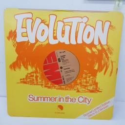 "EVOLUTION - Summer in the city. 12EMI2849, 12"" LP."
